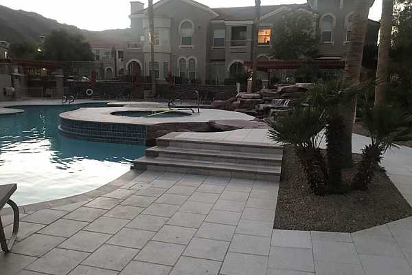 Photo #9 Clubhouse pool and spa area