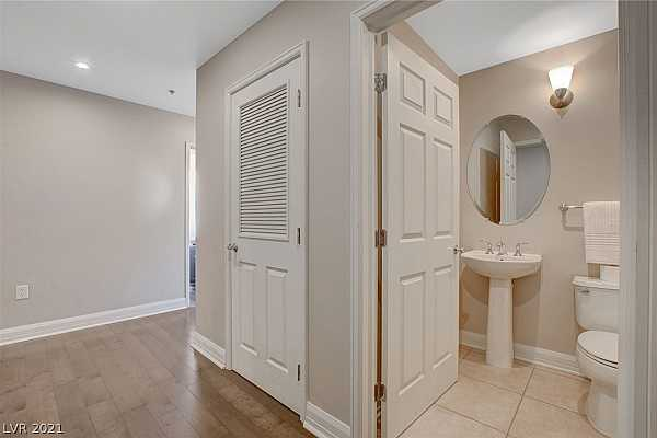 Photo #2 This is the entryway- the half bath is right by th