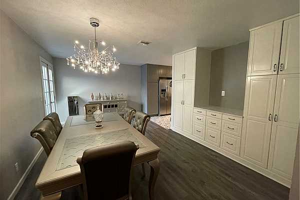 Photo #10 Formal Dining Room with storage